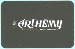 Carte De Visite - L'Arthémy : Lard & La Manière - Côteaux Du Blanzacais - [restaurant - Blanzac] - Visiting Cards
