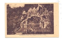 5590 COCHEM - TREIS-KARDEN, Kloster Maria Engelport, Lourdesgrotte - Cochem