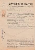 Convention 1939 Ministère Guerre / Location Garage Permissionnaires / De Buyer Tréfileries / La Chaudeau 70 Aillevillers - 1939-45