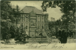 AK GERMANY - DESSAU - SCHWEDENHAUS -  EDIT W. HERMANN - STAMPS 1900s ( BG2965) - Dessau