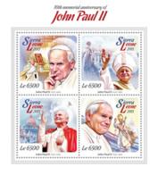 Sierra Leone 2015 Pope John Paul II - Sierra Leone (1961-...)