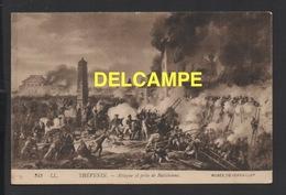 DD / GUERRES NAPOLÉONIENNES / ATTAQUE ET PRISE DE RATISBONNE EN 1809 / TABLEAU DU PEINTRE THÉVENIN - Guerres - Autres