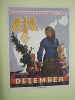 Winterhilfswerk (WHW),  Türplakette Dezember 1939, Tieste 639.1 - 1939-45
