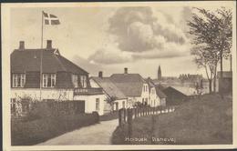 61-631 Denmark Dänemark Holbaek Banevej Military Censor Sent To Finland 1915 - Danemark