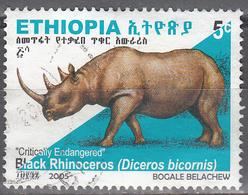 ETHIOPIA    SCOTT NO.  1682      USED      YEAR  2005 - Ethiopie