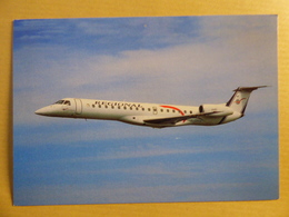 REGIONAL AIRLINES  EMBRAER EMB 145    AIRLINE ISSUE / CARTE COMPAGNIE - 1946-....: Ere Moderne