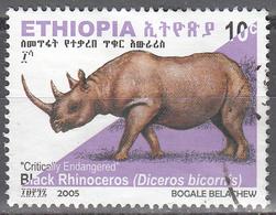 ETHIOPIA    SCOTT NO.  1683      USED      YEAR  2005 - Ethiopie