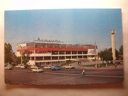 Carte Postale Kazakhstan - Almaty -Alma-Ata Bus Station ( Petit Format Couleur Non Circulée ) - Kazakhstan