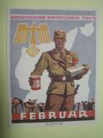Winterhilfswerk (WHW),  Türplakette Februar 1940, Tieste 641.1 - 1939-45