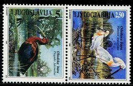 BB2201 Yugoslavia 1996 Birds 2V MNH - Timbres