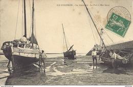 Ile D'Oléron  - La Cotinière - Le Port à Marée Basse - Ile D'Oléron