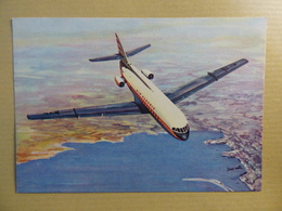 AIR ALGERIE  CARAVELLE      AIRLINE ISSUE / CARTE COMPAGNIE - 1946-....: Ere Moderne