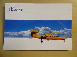 AURIGNY  TRISLANDER       AIRLINE ISSUE / CARTE COMPAGNIE - 1946-....: Ere Moderne