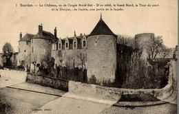 CPA Dourdan Le Château Vu De L'angle Nord-Est - Châteaux