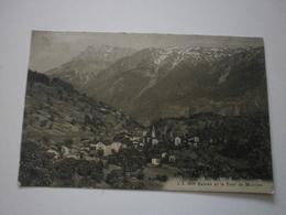 Suisse. Salvan Et La Dent De Morcles (A5p86) - VS Valais