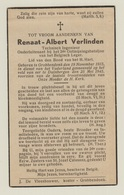 Gesneuvelde 40-45, VERLINDEN, °Grobbendonk +Duinbergen 15/5/1945, 2e Ontmijningsbataljon - Religion & Esotérisme