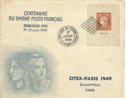 FRANCIA  SOBRE CENTENARIO SELLO YVERT 841 - Francia