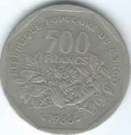 Congo - People's Republic - 500 Francs CFA - 1986 (KM4) - Congo (République 1960)