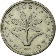 Monnaie, Hongrie, 2 Forint, 2001, Budapest, TTB, Copper-nickel, KM:693 - Hongrie