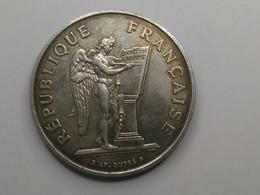 100 Francs Droits De L'homme 1989 Argent - France