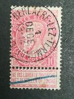 COB N ° 58 Oblitération Berlaere-lez-Termonde - 1893-1900 Fine Barbe