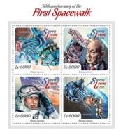 Sierra Leone 2015   First Spacewalk(Alexey Leonov, Voskhod 2 - Sierra Leone (1961-...)