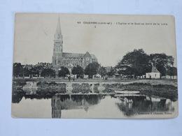 COUERON - L'Eglise Et Le Quai Au Bord De La Loire  Ref 0297 - France