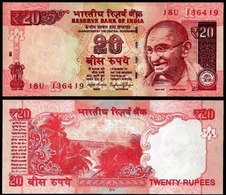 INDIA 2016 20 RUPEES UNC NOTE NEW GEM UNC 20 RS NOTE - Inde