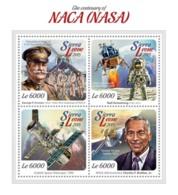 Sierra Leone 2015  NASA  Space  Pilots - Sierra Leone (1961-...)