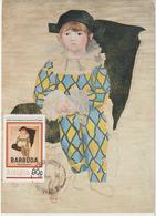 Carte-Maximum ANTIGUA -BARBUDA N° Yvert 522 (PICASSO) Obl Sp 1er Jour (Ed Musées Nat) - Antigua Und Barbuda (1981-...)