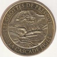 MONNAIE DE PARIS 46 SAINT-MEDARD DE PRESQUE Grotte De Presque - La Cascade Figée 2016 - 2016