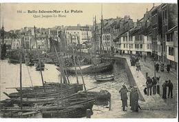 BELLE-ISLE-en-MER Le Palais  Quai Jacques Le Blanc Coll. Fechant  104 - Belle Ile En Mer