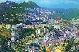 China - Hongkong  Vietoria City:  Luftansicht - Chine (Hong Kong)