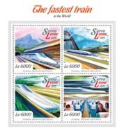 Sierra Leone 2015   Fastest Train In The World - Sierra Leone (1961-...)