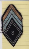 T 2)  Écusson Tissu Militaire Ou Autre (Format  ) - Patches