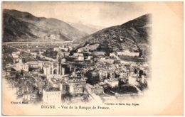 04 DIGNE - Vue De La Banque De France - Digne
