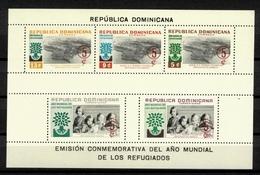 DOMINICAN REPUBLIC - 1960 World Refugee Year S/S - Dominicaine (République)