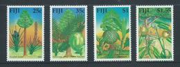 Fiji 1990 Trees Set 4 MNH - Fiji (1970-...)