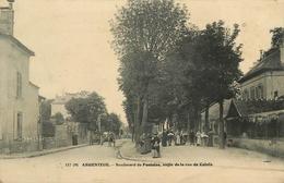 ARGENTEUIL - Boulevard De Pontoise, Angle De La Rue De Calais. - Argenteuil