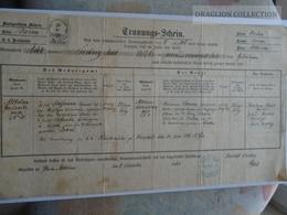 ZA185.1  Old Document  Czechia -Mähren Moravia - Brünn- ALTBRÜNN - 1868 Jozef Hofmann - Faire-part