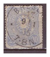 DR:  (1885) Nr. 42aa, Gestempelt - Deutschland