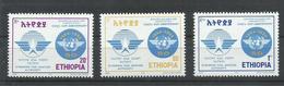 ETIOPIA YVERT 1391/93    MNH  ** - Etiopía