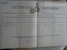 ZA185.2  Old Document  Slovakia - Pozsony Bratislava - BLUMENTHAL - Maria BÜTTNER - 1886 - Josephus Poeck Parochus - Faire-part