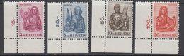 Switzerland 1961 Evangelisten 4v (corners) ** Mnh (42213) - Zwitserland