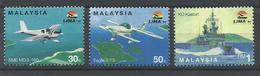 MALASIA   YVERT  517/19     MNH  ** - Malasia (1964-...)