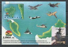 MALASIA   YVERT  H/B 9   MNH  ** - Malasia (1964-...)