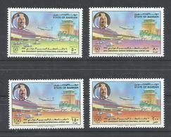 BAHRAIN  YVERT 457/60  MNH  ** - Bahrain (1965-...)