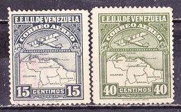 Venezuela 1930 Posta Aerea  Nuovi - Venezuela