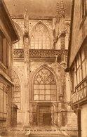 14 - LISIEUX - Rue De La Paix. Portail De L'Eglise Saint-Jacques - Lisieux