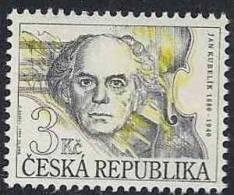 1994 Rép TCHEQUE 30** Kubelik, Compositeur , Musique - Tchéquie